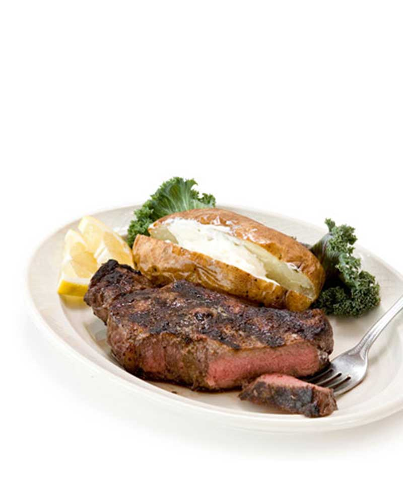char broiled steak